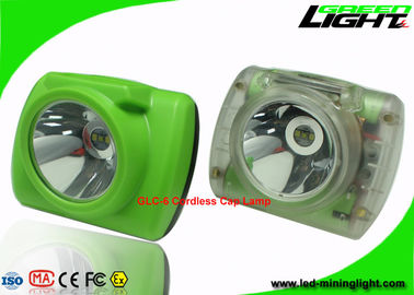 China Cordless Mining Hard Hat Led Lights , Underground Mining Headlight Explosion Proof factory