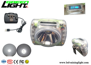 led mining light 15000lux rechargeable cordless cap lamp with super waterproof 13 hours for underground mine