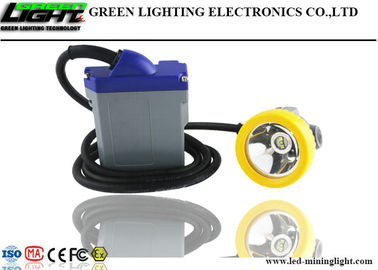 Coal Corded Cap Lamp 15000lux High Brightness Adopt 6.6Ah Rechargeable Lithium Battery Pack