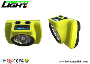 China GLC-6S Mining Hard Hat Led Lights 6800mA 18000lux Waterproof For Underground Industry factory