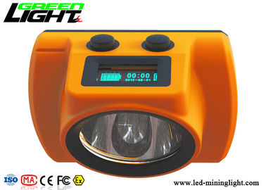 China 18000lux Cordless Mining Cap Lamps CREE ABS/PC Hard Body Material 1 Year Warranty factory