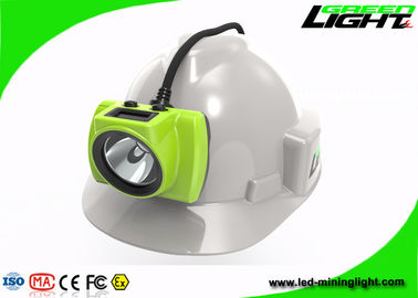 China Electronic LED Miners Cap Lamp 3.7V Head Protection 18000lux High Brightness factory