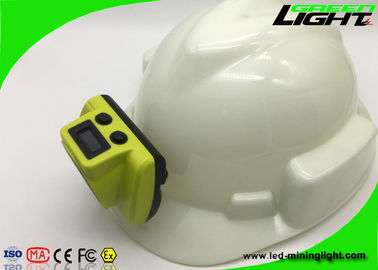 China USB Charger Cordless Mining Cap Lights 18000lux IP68 Waterproof 6.8Ah Battery factory