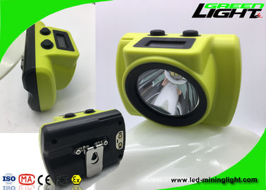 China 18000lux Cordless High Power Led Headlamp Ip68 Waterproof With Li - Ion Battery factory
