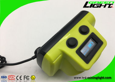 China Waterproof Underground Hard Hat Lights 13000lux Brightness With Usb Charging Cable factory
