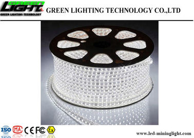 China Soft Silica Gel Flexible Adhesive Led Strip Lights Cool White 110V 240V High Voltage factory