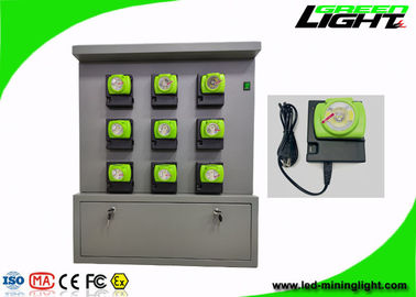 China Double Side Charger Racks Cordless Mining Cap Lights 18 Units 5V 2A GLC-6 Series factory