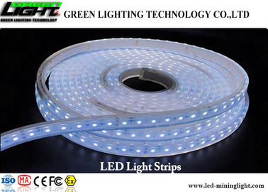 China IP68 LED Flexible Strip Lights 5M 300 LEDs 5050 RGB Full Kit With Power Supply factory