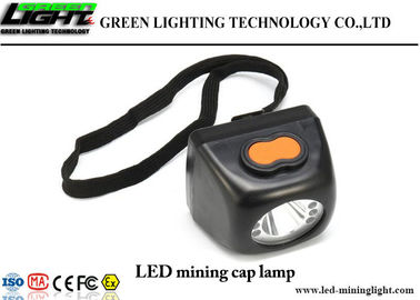 China Explosion Proof Cordless Mining Lights , Hard Hat Miners Helmet Light 8000lux factory