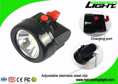 China Rechargeable Miners Helmet Light Cordless Mining Industrial Lamp 2.8Ah Battery factory