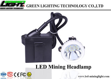 China Cordless Portable LED Miners Cap Lamp Helmet Light SB Charging Lithium Ion Battery factory