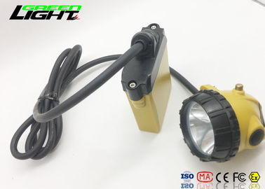 China 25000lux Lightweight Led Headlamp Normal Strong Auxiliary SOS LightingFor Hard Hat factory