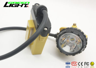 China Waterproof Ip68 Rechargeable Led Hard Hat Light , High Power Led Headlamp For Running factory