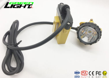 China 2A Charger Super Bright Led Headlamp Aluminum Cup Material For Miner / Hunting factory