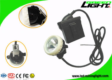 China 4000lux Mining Cap Corded Lamp  Industrial Emergency Lights IP67 1200 Cycles Battery factory