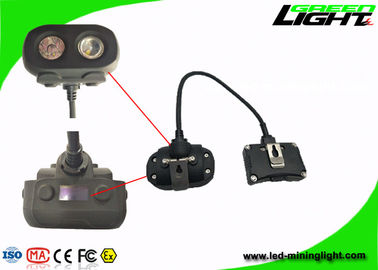 High IP Rating Rechargeable Mining Cap Lamps 15000lux With RFID Tracking Technology