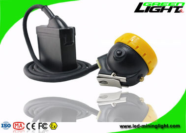 China 10000lux Mining Cap Lights High Brightness 216lum Li - Ion Battery Pack Light Weight factory