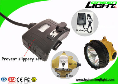 China 25000lux Rechargeable Cree Headlamp , Waterproof Led Headlamp High Safety Super bright factory