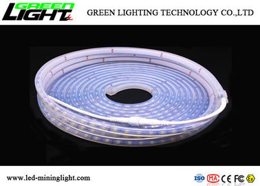 SMD5050 Safety LED Flexible Strip Lights High Voltage Temp Regulation Protection