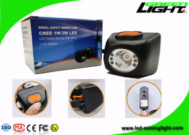 China Digital Cordless Mining Lights Safety Cap Lamps Recycles Battery Msha Approved factory