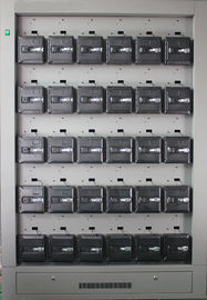 LED Miner Lamp's Charger Rack 30 Units with Private lockers for Semi-corded, Corded, Cordless