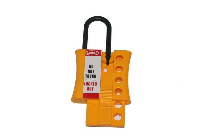 Safety Lock Out Hasp Available 4 Padlock 6mm US Dupont Nylon Lock Shackle