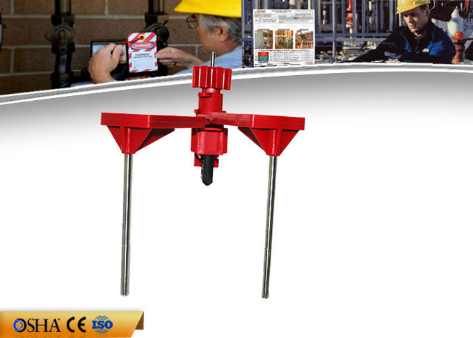 Industrial ABS Gate Valve Lockout Device Double Control Arm 647g Weight