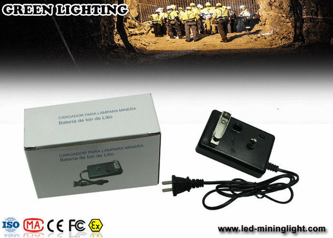 GL5- A 6000Lux  6.6Ah  IP68 safety mining cap lamp Corded rechageable ABS meterail