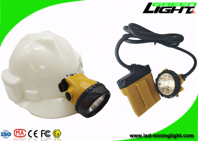 Lightweight Cree Led Rechargeable Headlamp Light Anti Explosive Waterproof 3W